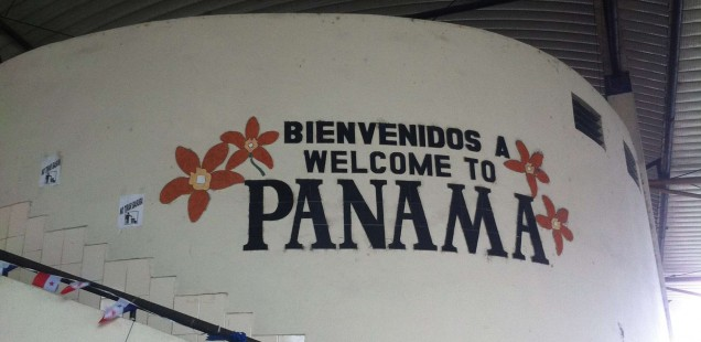 Crossing the Costa Rican Border into Panama