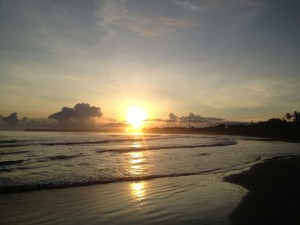 Sunrise in Cahuita